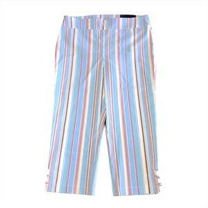 Attyre Striped Capri Pants 12P